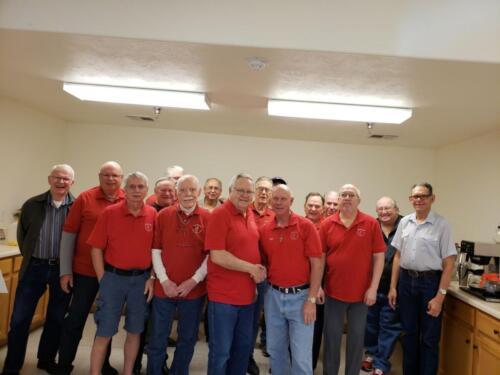 Members of Men's Group